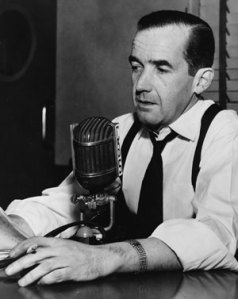 Murrow in 1954