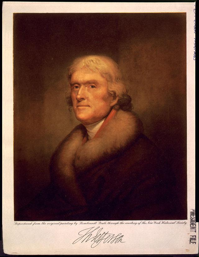 Thomas Jefferson Randolph Thomas Jefferson Library of