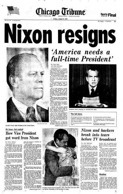An overview of the watergate scandal and constitutional crisis in 1972